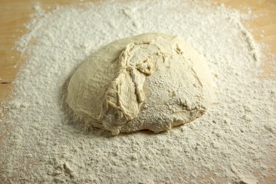 Kneaded Ciabatta Dough