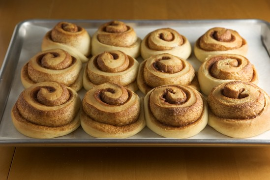 Bake Cinnamon Rolls Until Golden