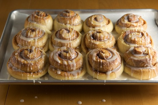 Drizzle Cinnamon Rolls with Glaze