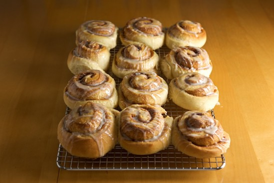 Let Cinnamon Rolls Cool on a Wire Rack
