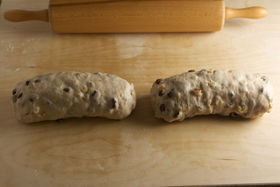 Two Cinnamon Raisin Walnut Loaves