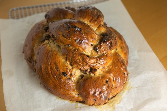 Celebration Bread Out of the Oven