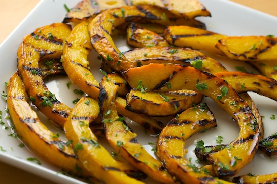 Sweet and Sour Grilled Pumpkin | pinchmysalt.com