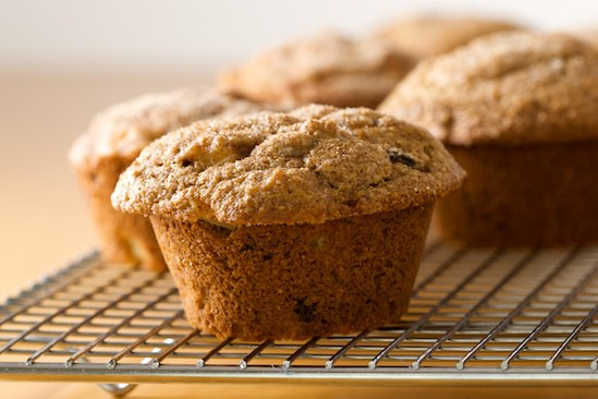 Apple Muffins Up Close