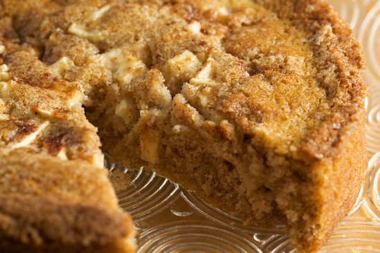 Apple Cinnamon Buttermilk Cake, Detail