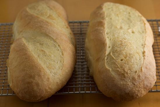 Baked Italian Loaves
