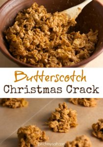 Butterscotch Corn Flake Candy | pinchmysalt.com