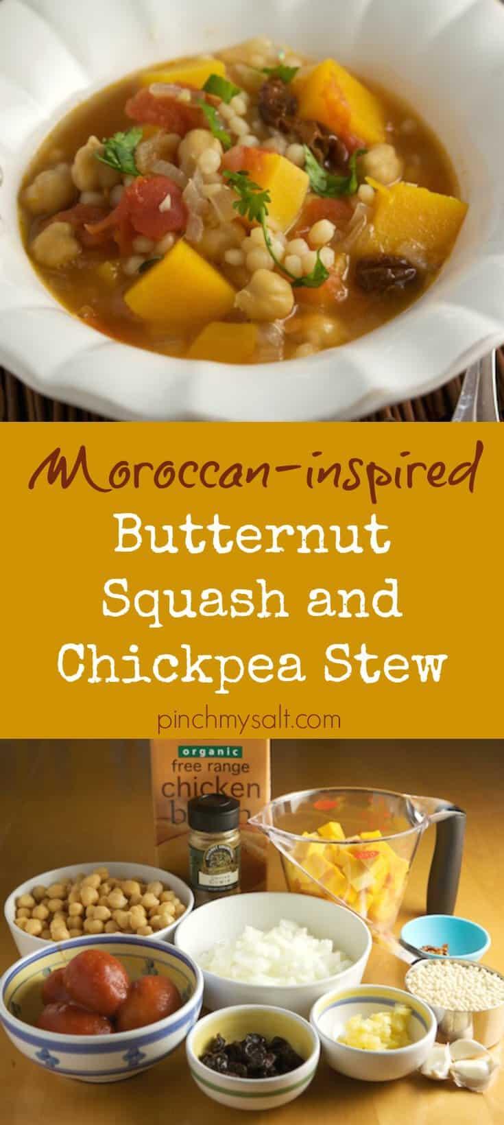 Butternut Squash and Chickpea Stew   pinchmysalt.com