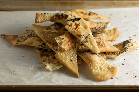 Baked Lavash Crackers