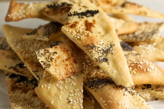 Lavash Crackers Ready to Eat