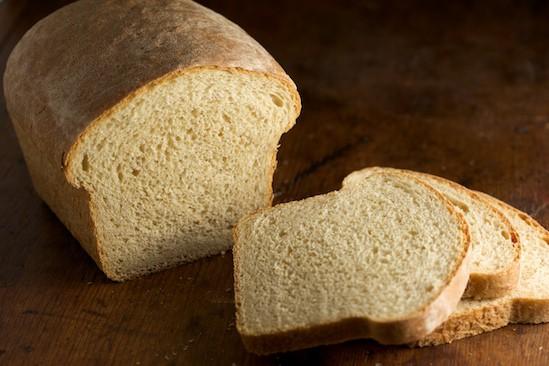 Light Wheat Bread Sliced