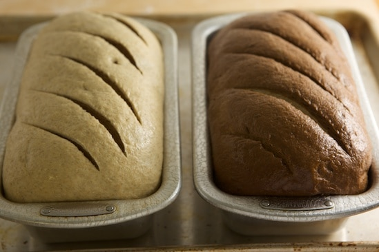 Marbled Rye, Risen and Slashed