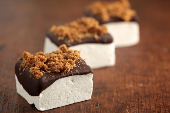 Marshmallows and Graham Cracker Crumbs