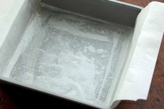 Parchment-Lined Pan