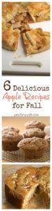 Six Delicious Apple Recipes for Fall | pinchmysalt.com