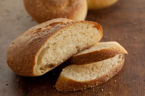 Pane Siciliano Loaves and Crumb