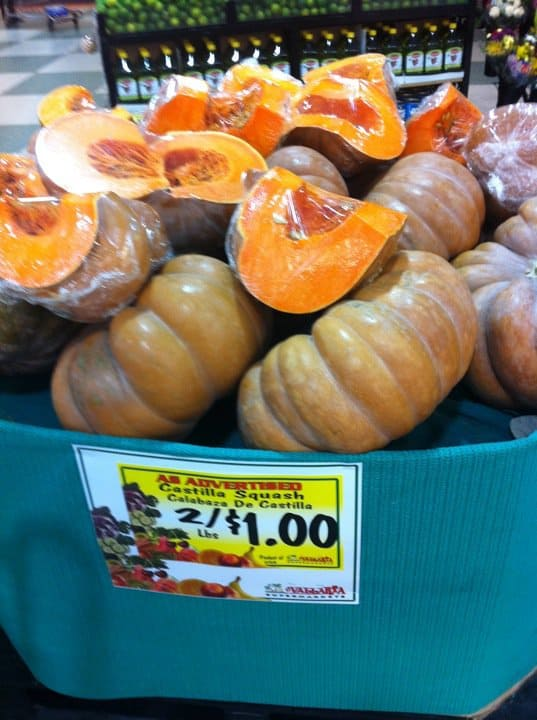 Castilla Squash or Fairytale Pumpkins at the grocery store | pinchmysalt.com