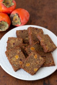 Health Persimmon Bread recipe | pinchmysalt.com
