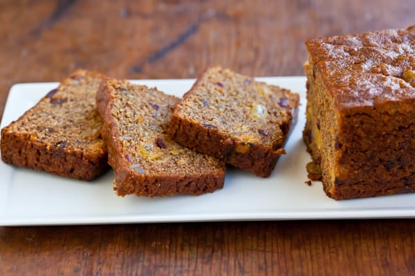 Whole Wheat Persimmon Bread Recipe | pinchmysalt.com