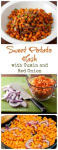 Sweet Potato Hash with Cumin and Red Onion | pinchmysalt.com