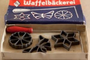 German Rosette Iron Set