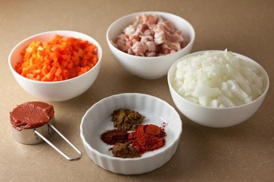 Ingredients for Black-Eyed Peas