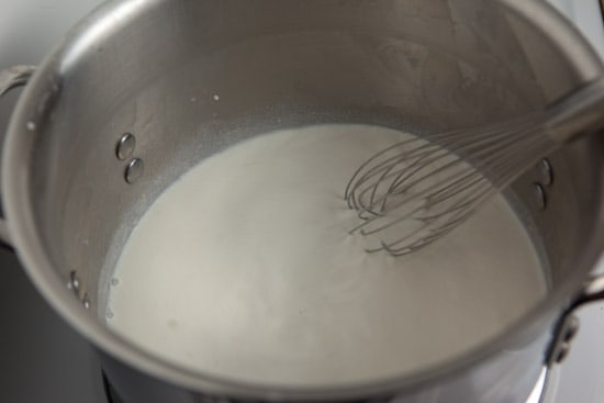 Whisking in half and half