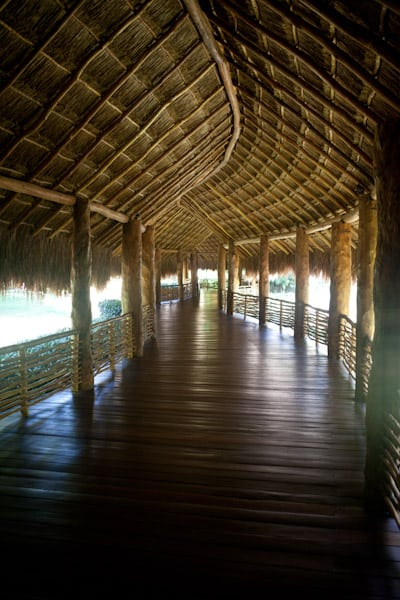 Covered Walkway at Grand Velas Riviera Maya