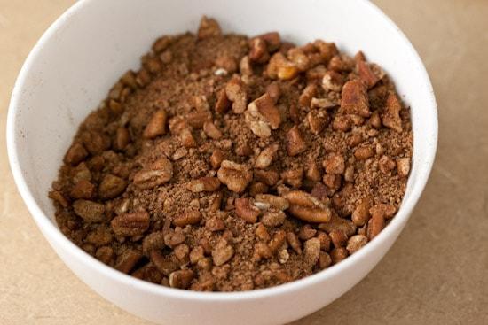 Cinnamon Cocoa Pecan Filling | pinchmysalt.com