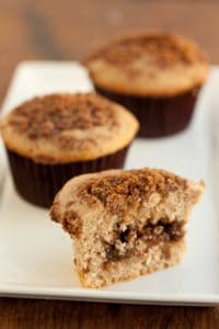 Inside the Sour Cream Cinnamon Streusel Muffin