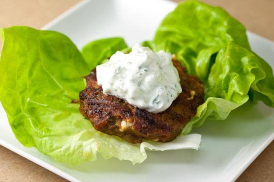 Spiced Turkey Burger Lettuce Wrap