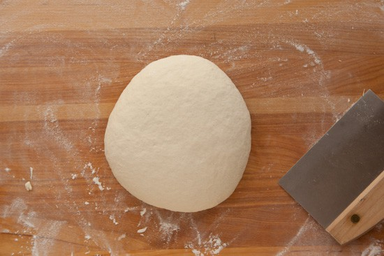 Kneading the Bread Dough