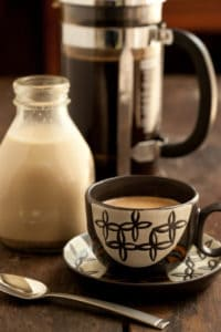 Coffee with Homemade Creamer
