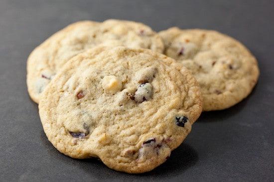 Cranberry White Chocolate Pecan Cookies