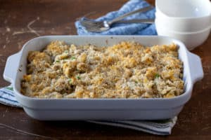 Homemade Tuna Noodle Casserole without Canned Soup - Pinch My Salt