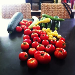 Tomatoes from our Garden - Pinch My Salt