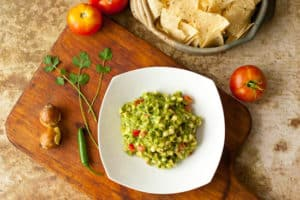 Grilled Corn Guacamole - Pinch My Salt