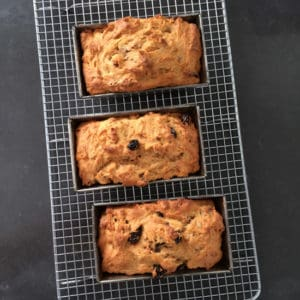 Sweet Potato Bread Out of the Oven