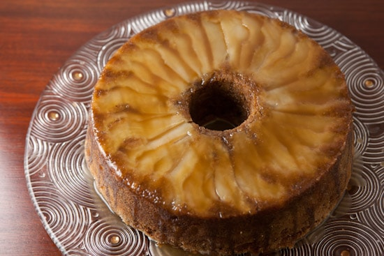 Caramel Apple Pear Cake