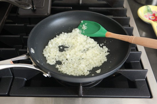 Onion in skillet