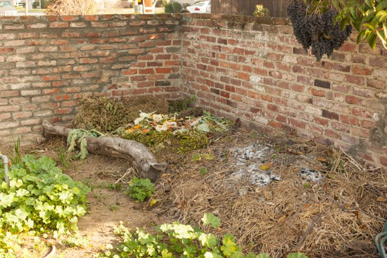 Compost Pile at Pinch My Salt