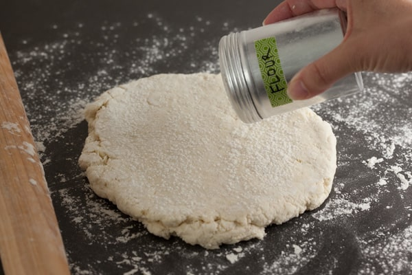 Sprinkle flour if sticky | pinchmysalt.com