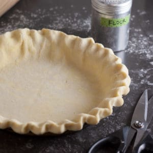 Fluted Pie Crust | pinchmysalt.com