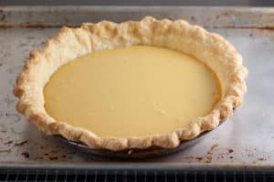Baked Lemon Cream Pie | pinchmysalt.com