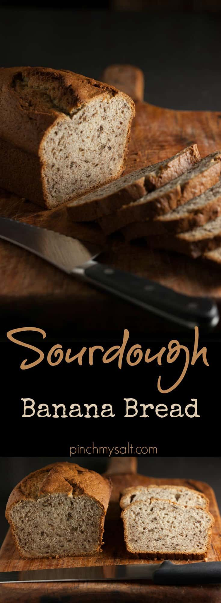 Sourdough Banana Bread Recipe | pinchmysalt.com