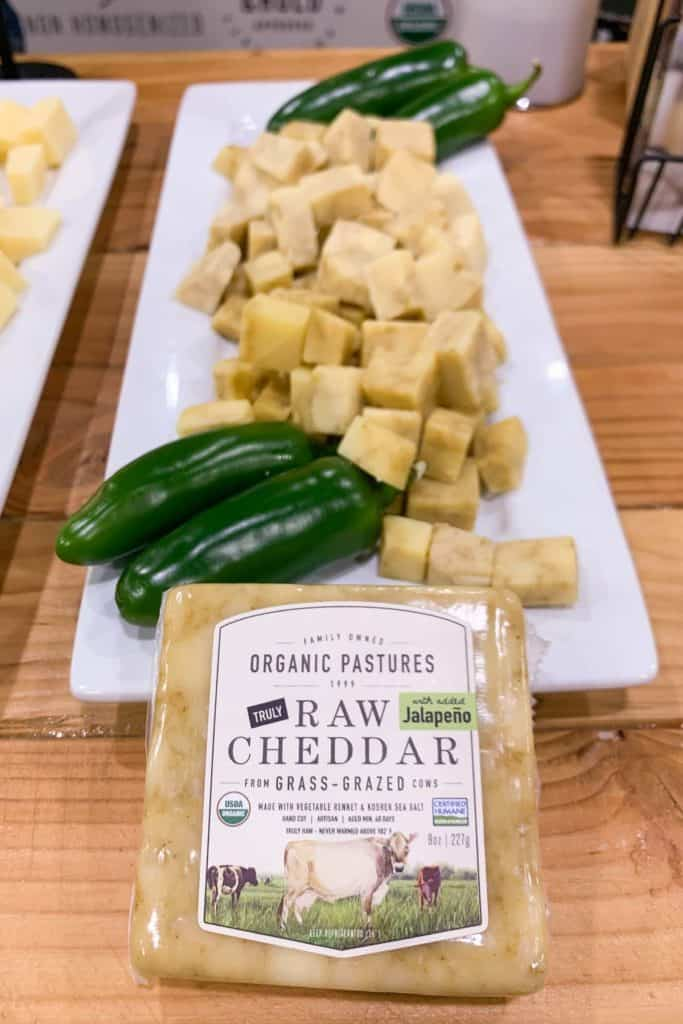 Jalapeno Cheddar at California Food Expo